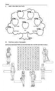 Worksheet: My Family Tree – Creative Chinese