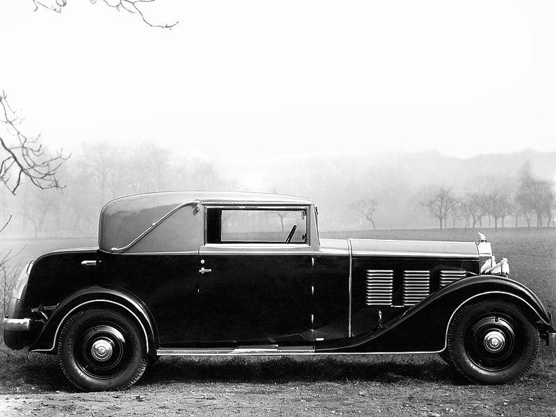 "Mathis Emy-8 ""FOH Court"" 17 CV Faux Cabriolet - 1931"