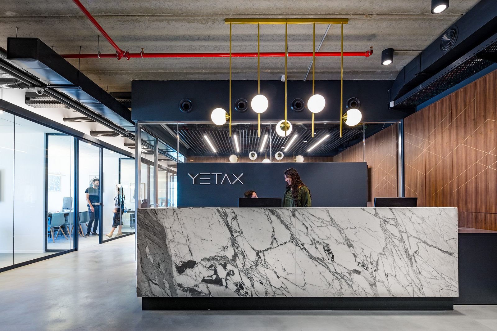 Office Tour Yetax Offices Givatayim Industrial Office Design