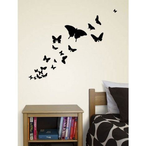 Butterflies Decal. use contact paper to create my own wall decals