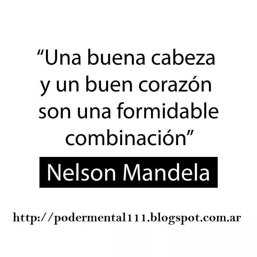 Nelson Mandela .