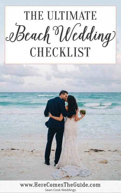 Beach Wedding Checklist | Questions to Ask