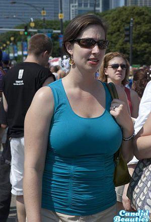 Saggy milky tits