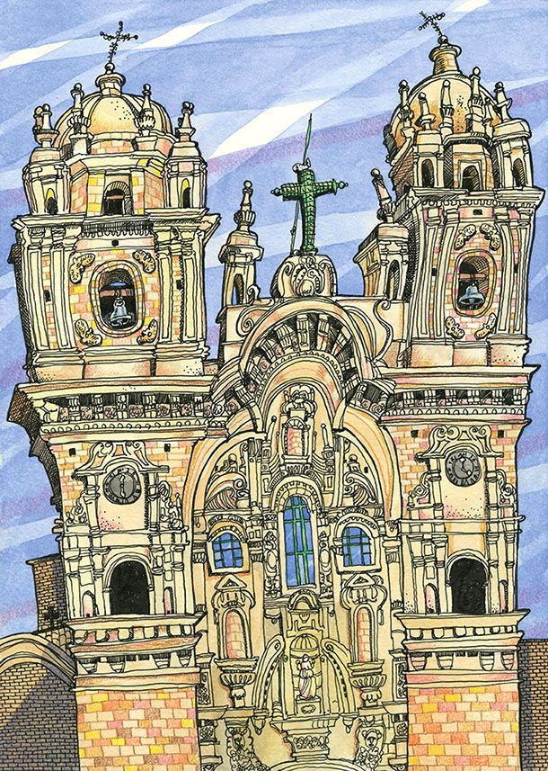 Tommy Kane's Art Blog: The Church Is A Temple
