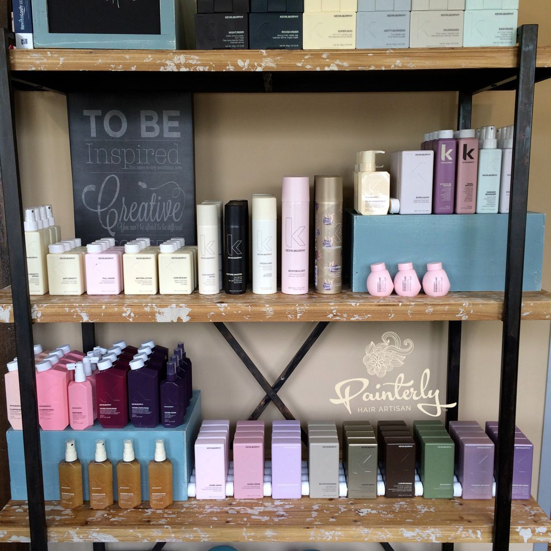 Kevin Murphy Retail Display Love My Kevin Murphy Shop