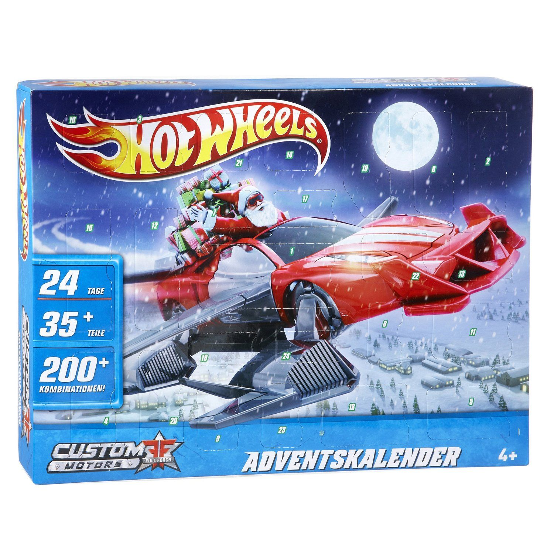Cars Weihnachtskalender.Hot Wheels Custom Motors Adventskalender Kids Hot Wheels Hot