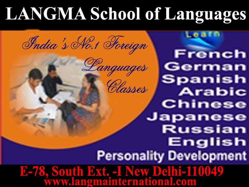 batches for German starts from 7th nov. 2013 Personality