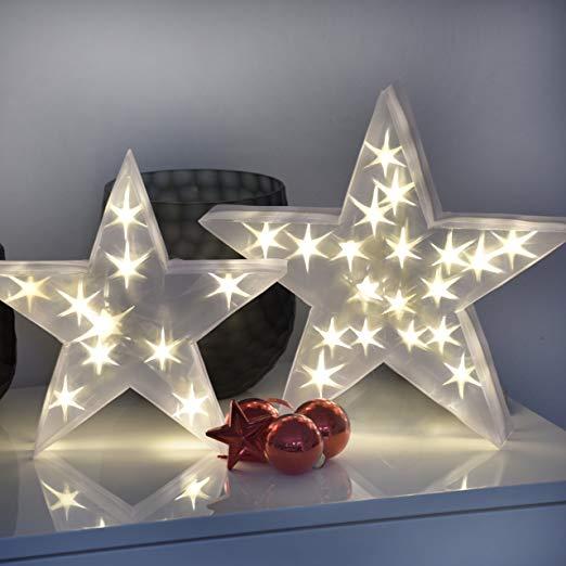 Bonaura Weihnachtsstern Mit Hologramm Optik O 35cm Innovative Weihnachtsbeleuchtung Innen Stern Led Zu Weihnachtsbeleuchtung Weihnachtsstern Weihnachtsdeko