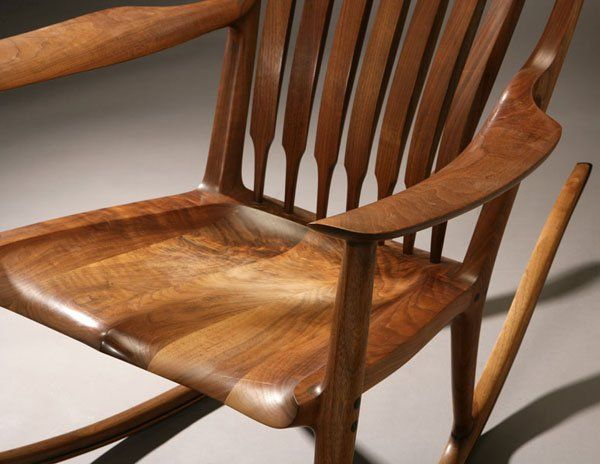 Sam Maloof Chair Plans X Rocker Video Game Rocking | Fine Furniture & Woodworking Pinterest Maloof, Chairs ...