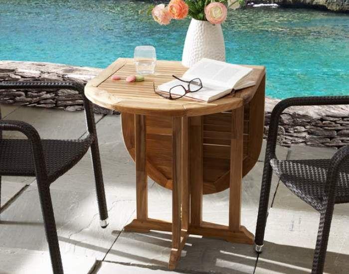Tavolo In Teak Ikea : De balkon klaptafel teak is ideaal voor op uw balkon boot terras