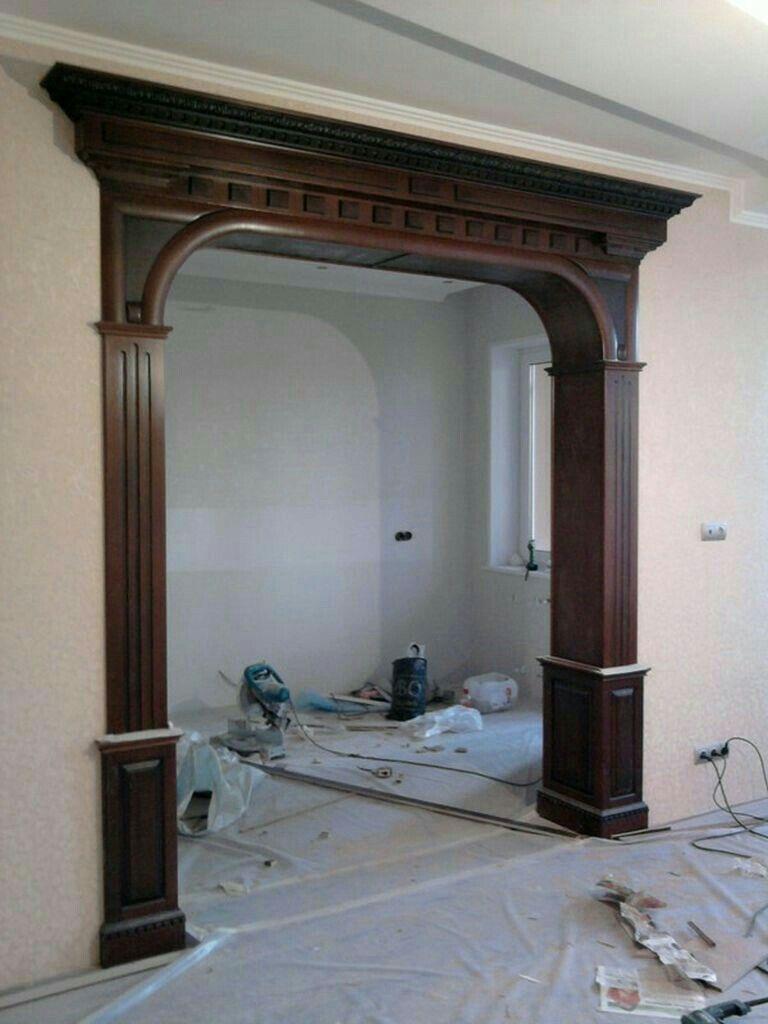 Pin de imran malik en decor pinterest puerta madera for Ideas para decorar marcos de puertas