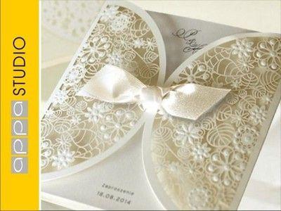 Zaproszenia Zaproszenie Slubne Zawiadomienia Appa 5324656931 Oficjalne Archiwum Allegro Personalised Wedding Invitations Wedding Invitations Uk Wedding Invitations