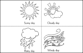 Preschool Printable Weather Book Google Search Weather Books Preschool Weather Weather Crafts