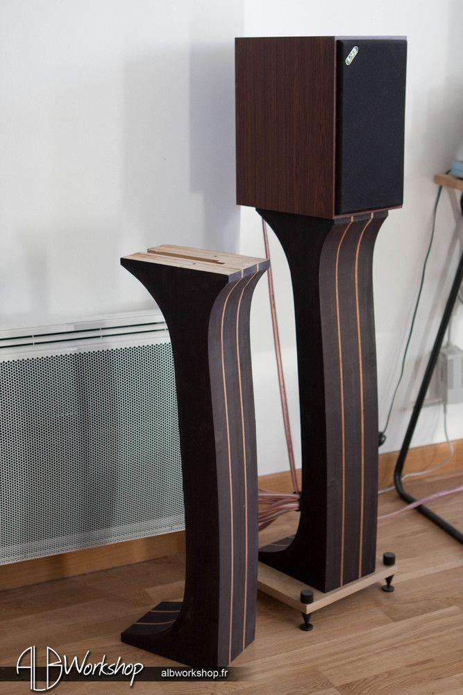 part 14 diy sonus faber stands replica alb workshop pinterest mobilier de salon. Black Bedroom Furniture Sets. Home Design Ideas