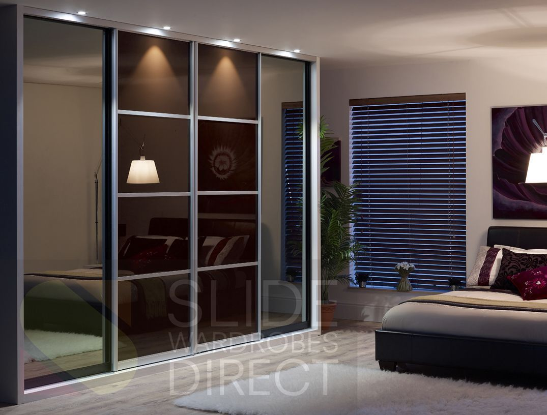 3 panel mirror sliding closet doors - Find This Pin And More On Sliding Closets