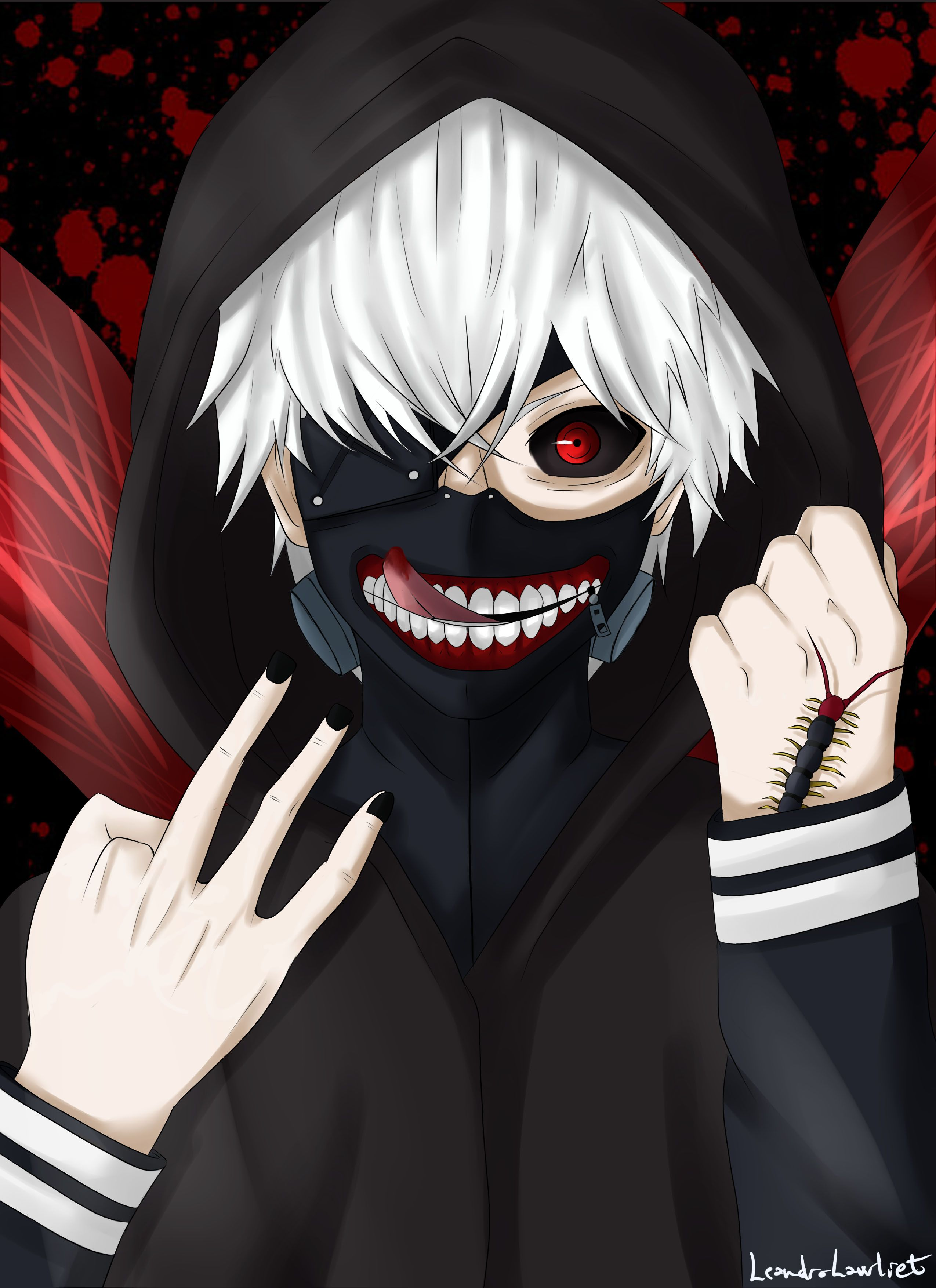 Картинка на аву аниме токийский гуль