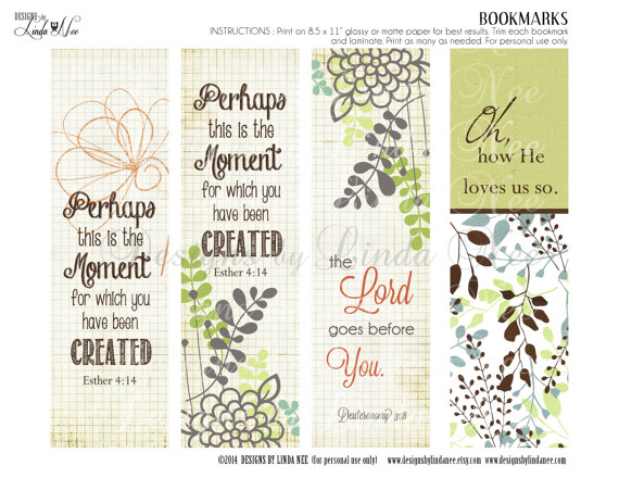 christian bookmarks