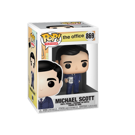 "#870  IN HAND BRAND NEW POP TV JIM HALPERT /""THE OFFICE/"""