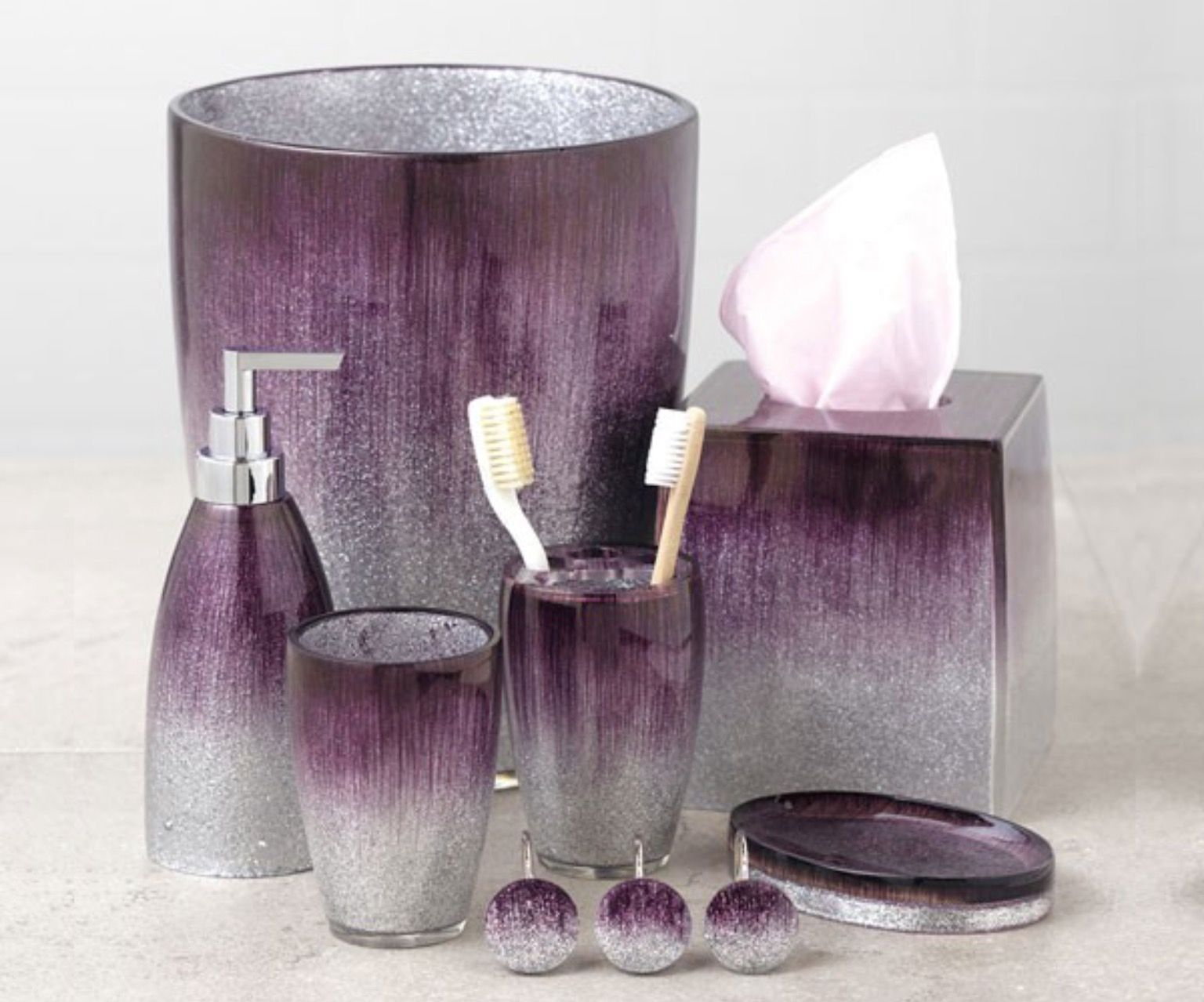 Pin By Monica Pistone On Things I Love For Home Purple Bathroom