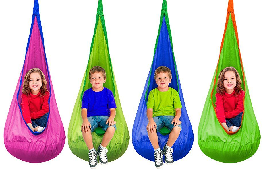 Excellent Amazon Com Sorbus Kids Child Pod Swing Chair Hanging Seat Camellatalisay Diy Chair Ideas Camellatalisaycom