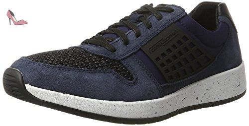 Camel Active Laponia 40, Sneakers Basses homme, Bleu (Navy/Midnight/Grey 02), 41 EU