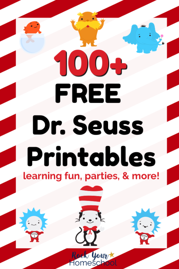 100+ Free Dr. Seuss Printables & Activities for Fantastic