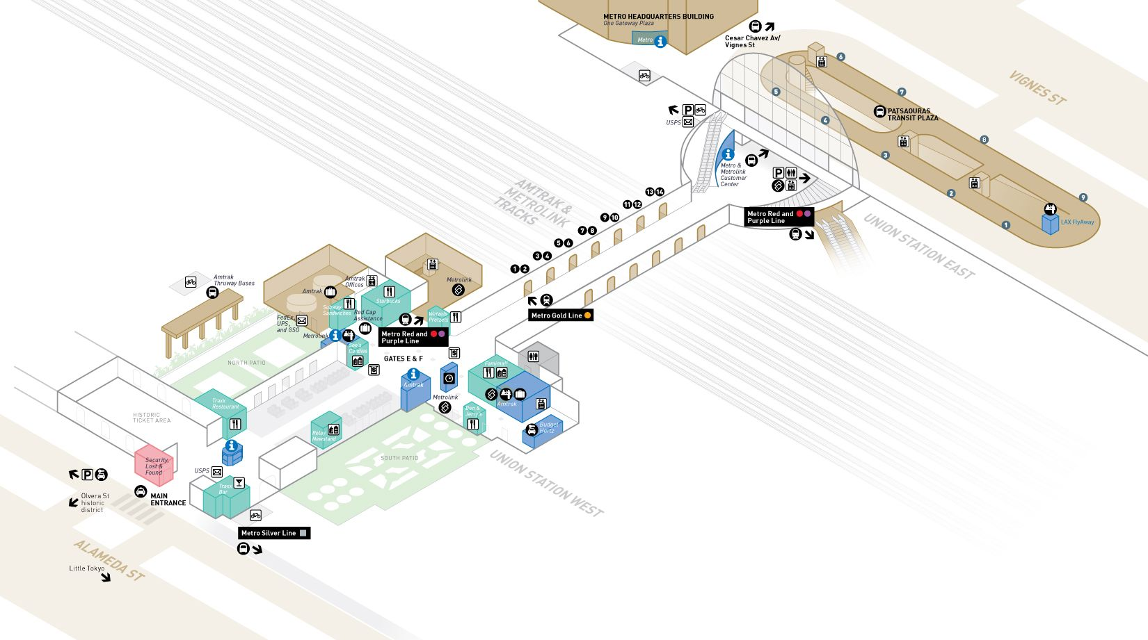 Union Station Union Station Station Map