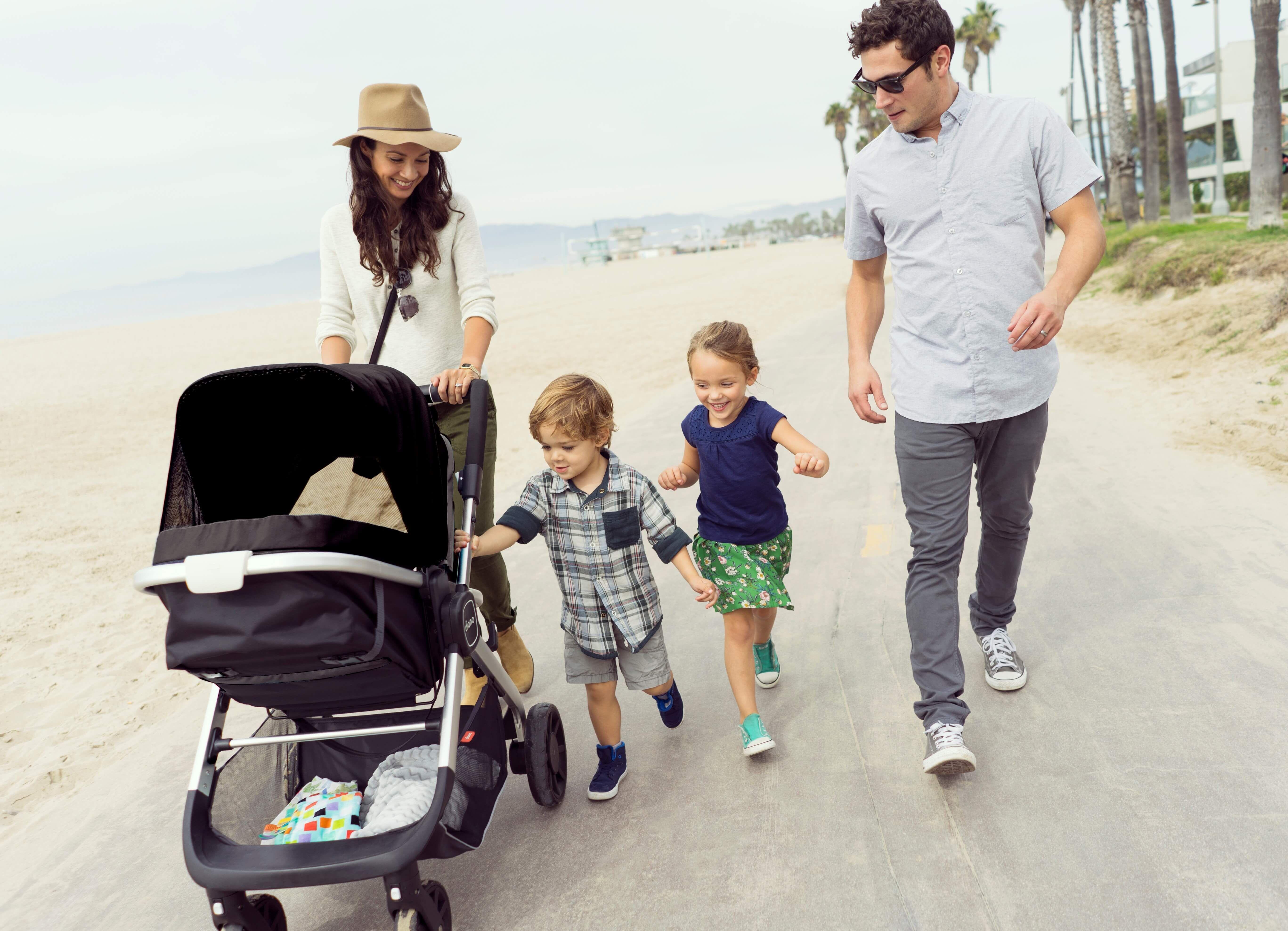 Diono Quantum MultiMode Travel Stroller Black Travel