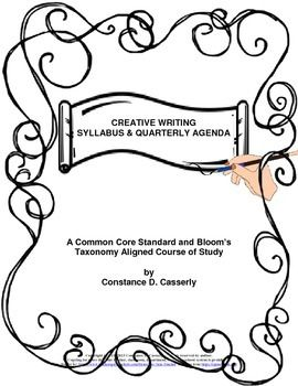 Writing: Creative Writing Syllabus & Quarterly Calendars
