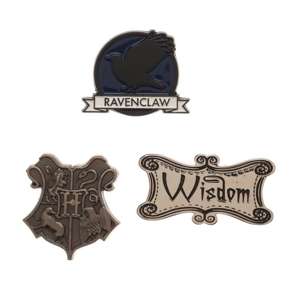 RAVENCLAW HOUSE JK HARRY POTTER LAPEL PIN OR BADGE GIFT