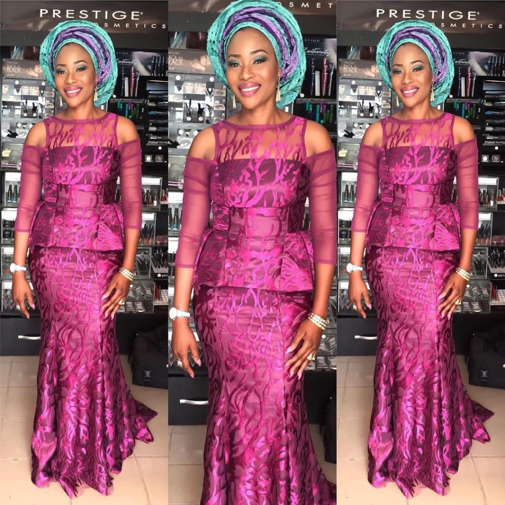 Look Out Of The World In These Classy And Trendy Aso Ebi Styles ...