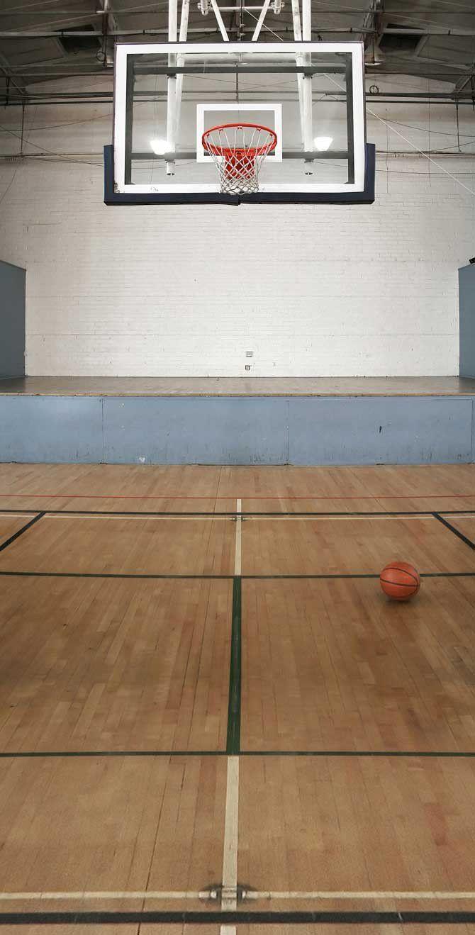 Basketball Gym Backdrop School 109 Sports Basketball Basketball Court Basketball