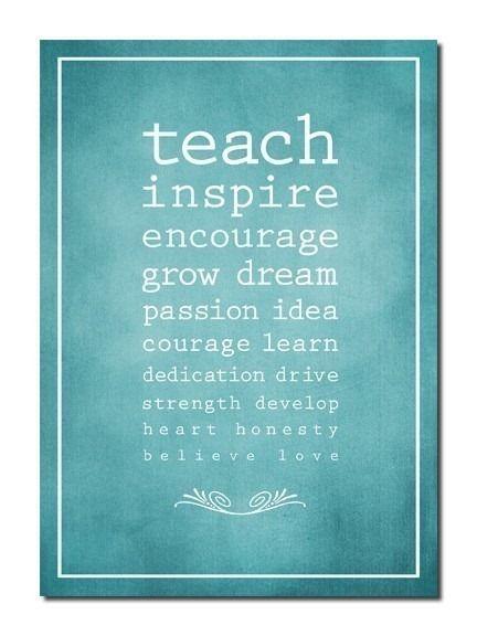 teach #teacher #inspiration | teacher appreciation | Teaching quotes