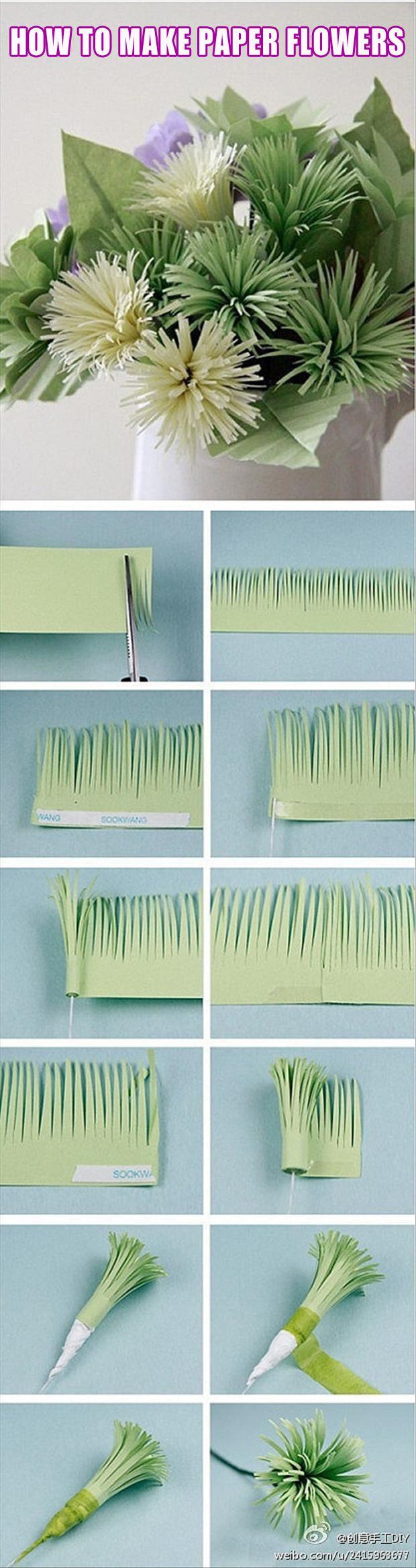 Flores de papel                                                                                                                                                     Mais