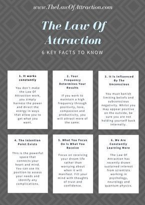 How Does The Law Of Attraction Work? 6 Key Facts You Should Know