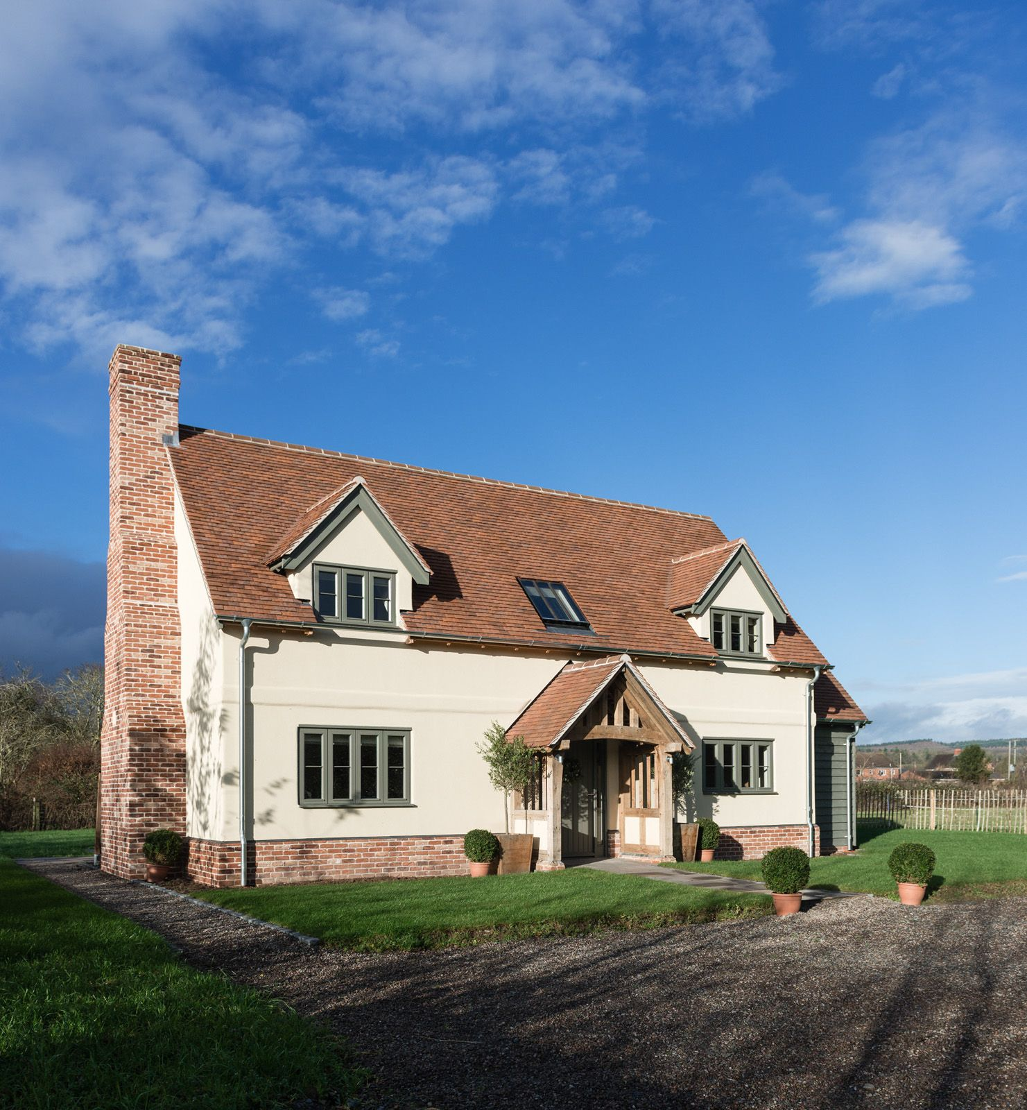 An Oak Frame Home Built For Under 200k: Pearmain Border Oak Show House