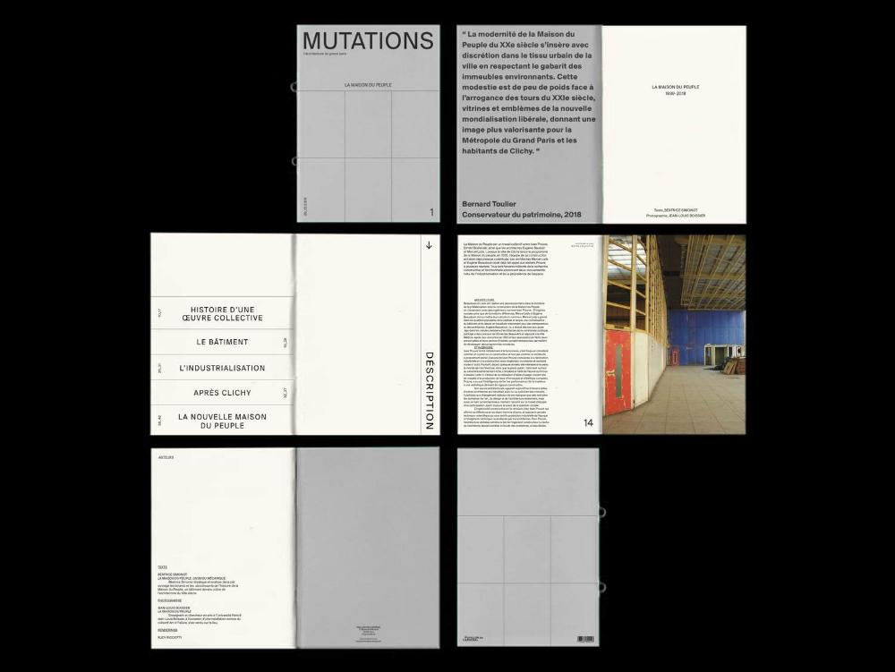 Alice Helfer Publication Design Bookbinding Typography