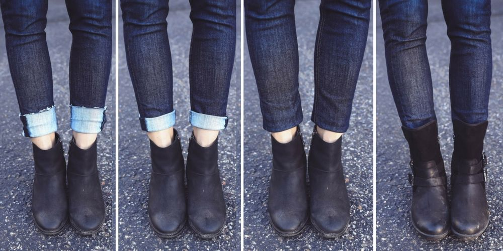 ankle boots with dresses over 5
