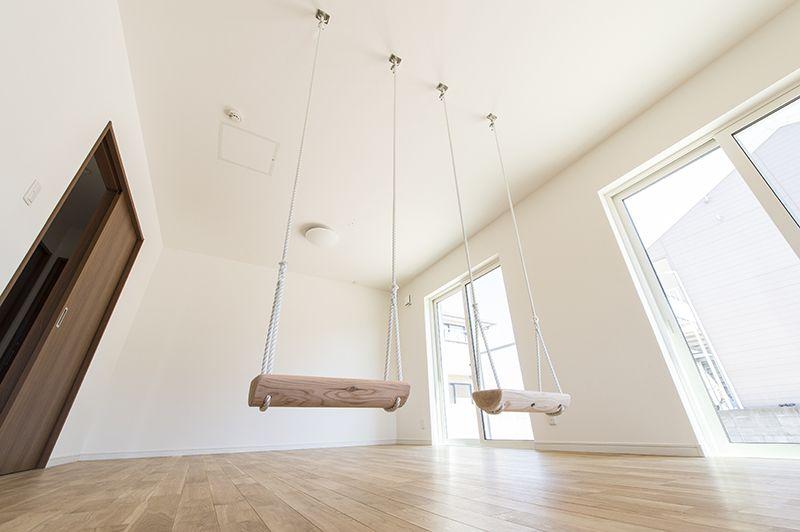 室内ブランコ 福岡の工務店なら注文住宅建築 外断熱 木材