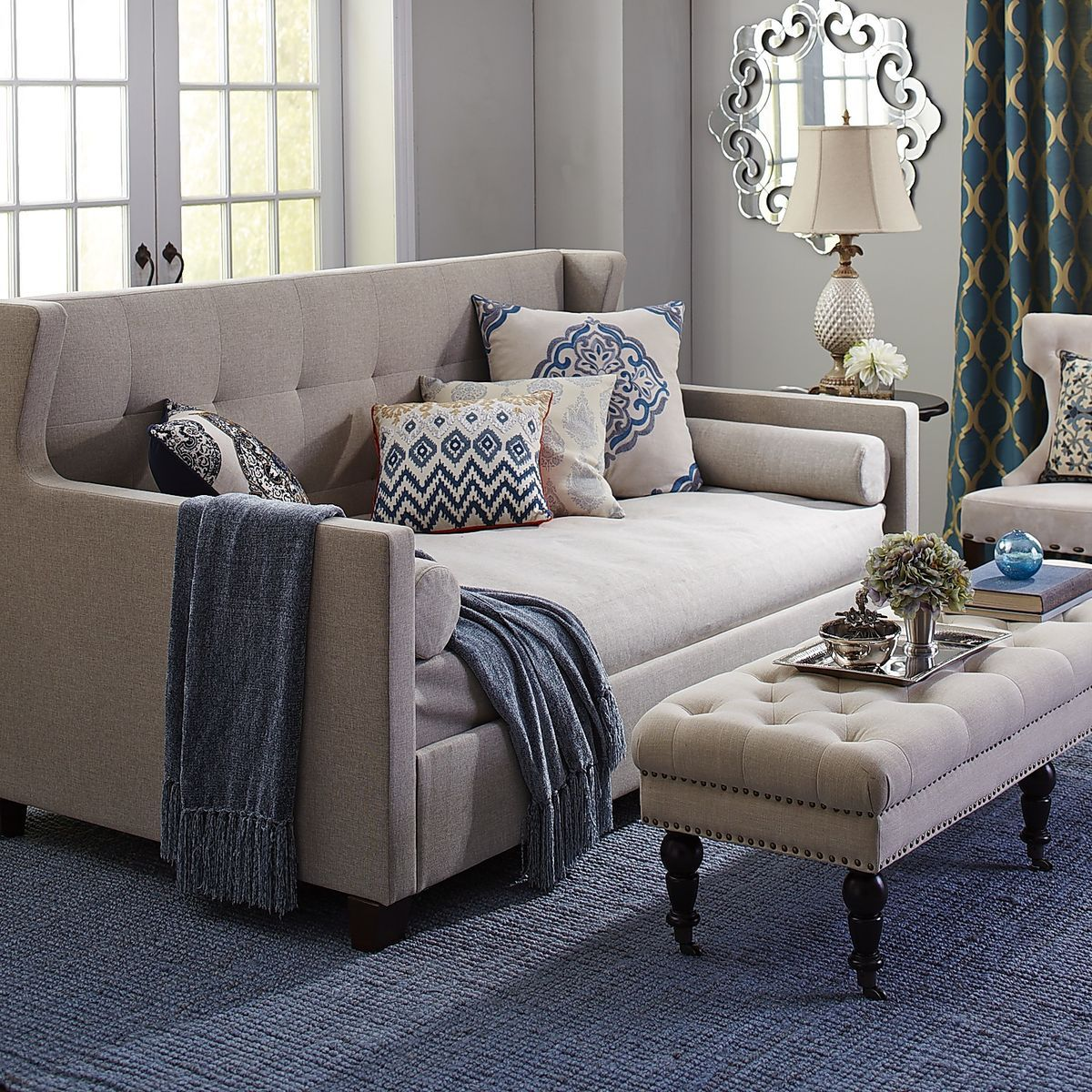 Awesome Hester Lift Up Daybed Pier 1 Imports 82 25W X 44 5D X Andrewgaddart Wooden Chair Designs For Living Room Andrewgaddartcom
