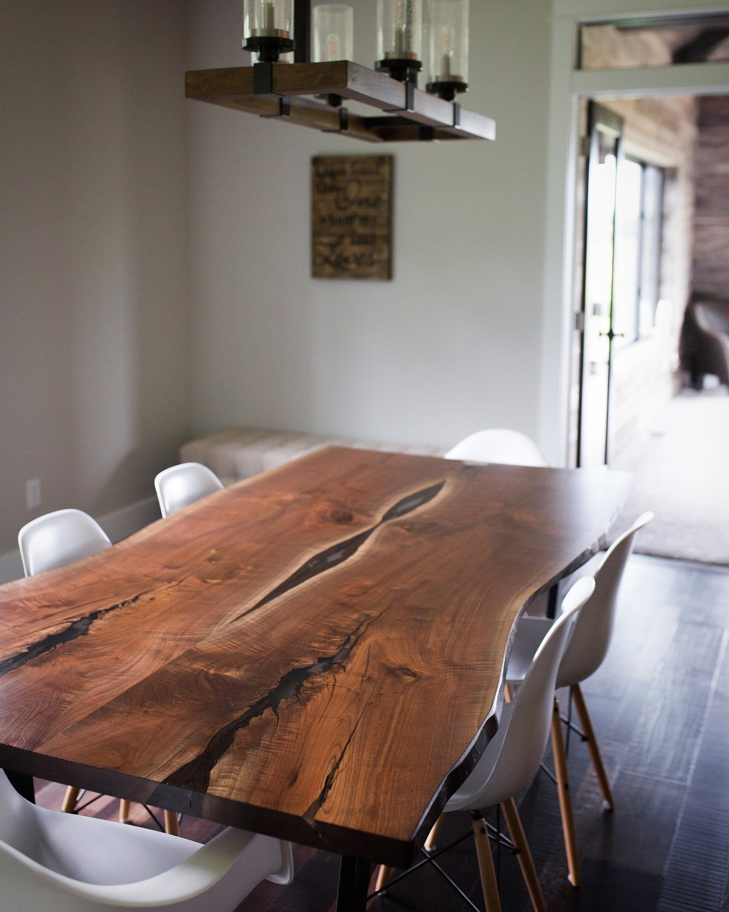 Luxedge Furniture Co Epoxy Tables River Tables Live Edge Tables Dining Table Coffee Tables Reclaimed Tables Walnut Dining Table Live Edge Dining Table Dining Room Table