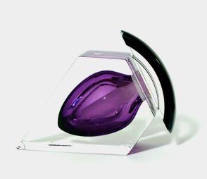 Perfume Bottle - Elite Lilac, Side Correia Art Glass -