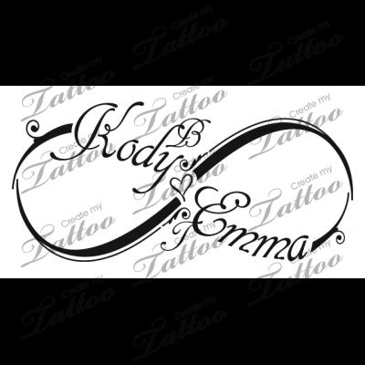Inside Wrist Tattoo Children S Names Childrens Names 59287 Createmytattoo Com Tattoos With Kids Names Infinity Tattoos Kid Name Tattoo