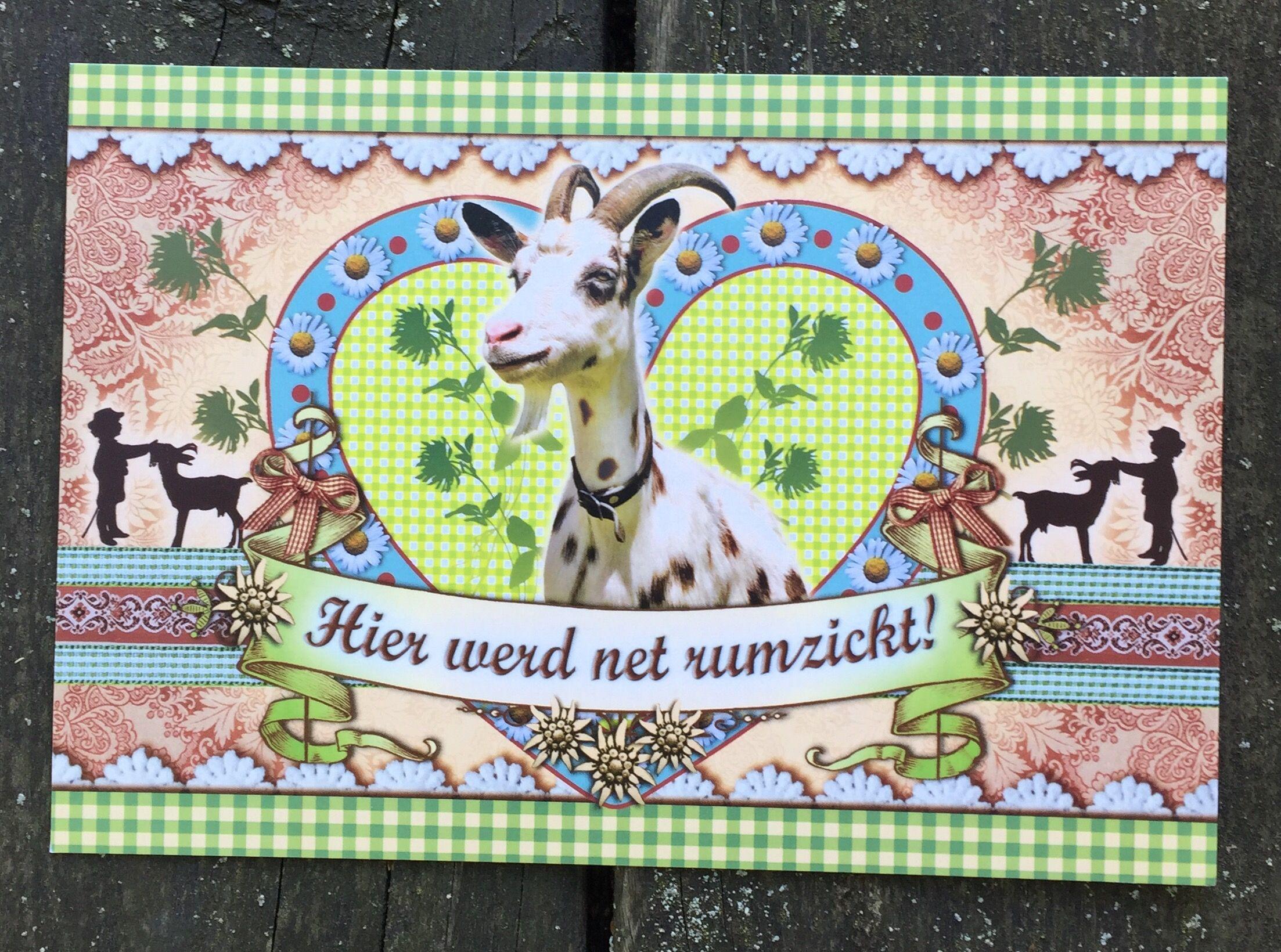 Postkarte mit Witz