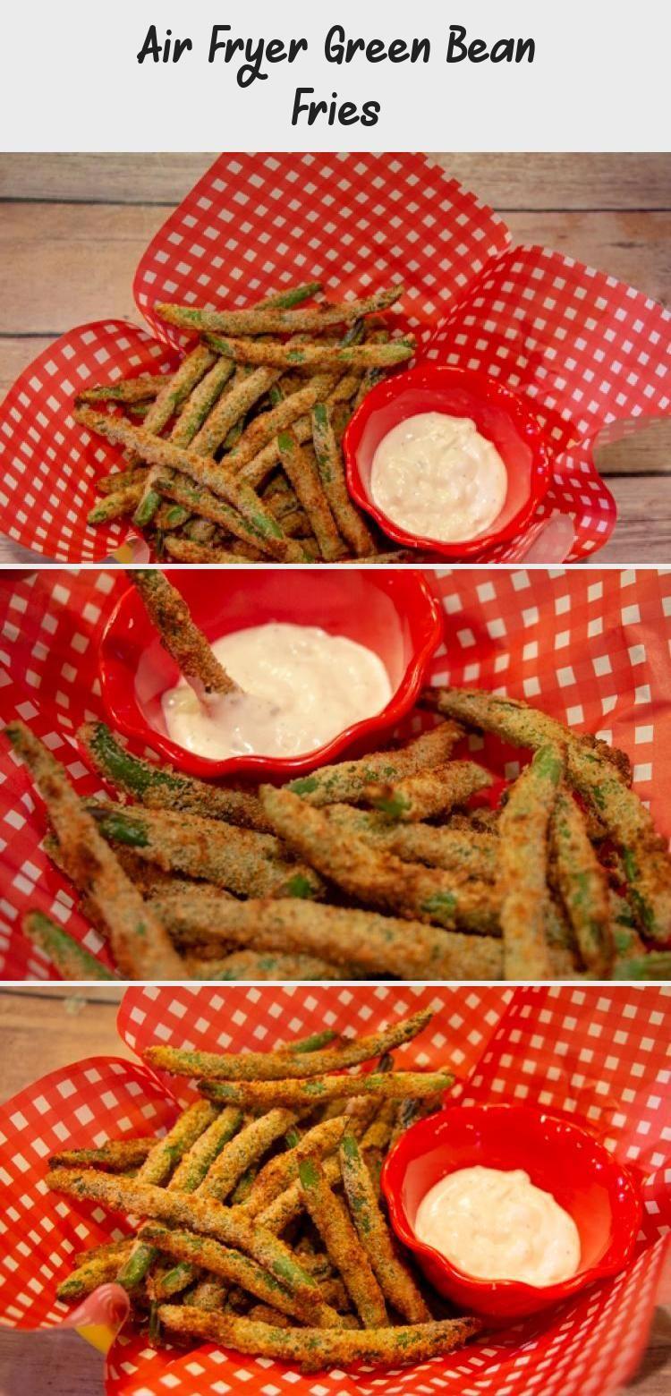 Air fryer green bean fries 2020