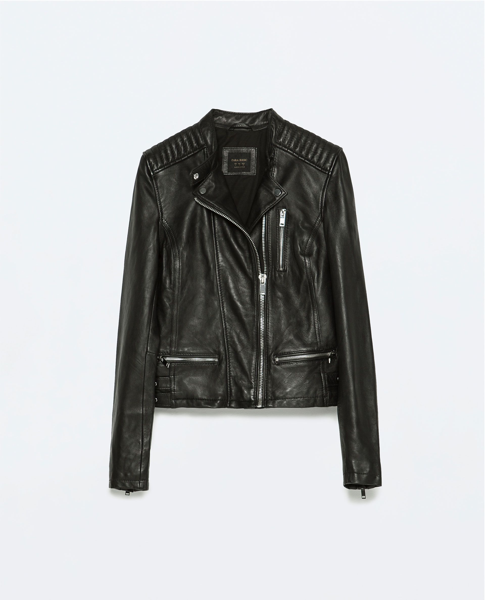 LEATHER BIKER JACKETJacketsJacketWOMAN ZARA Canada