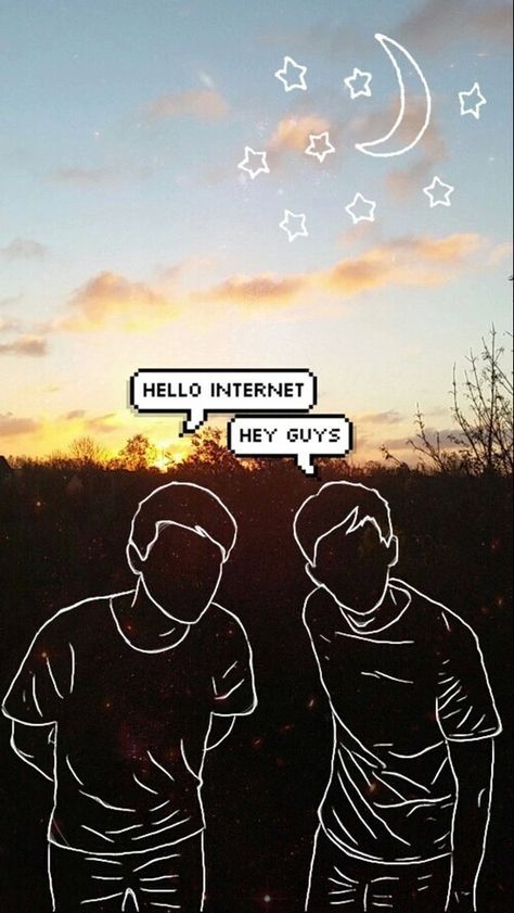 Some Dan And Phil Wallpapers Found Them Un Tumblr Not Mine Phanđomshail Google Dan And Phil Wallpapers Dan And Phil Dan And Phill