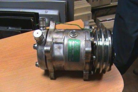 Замена подшипника компрессора кондиционера : замена ...