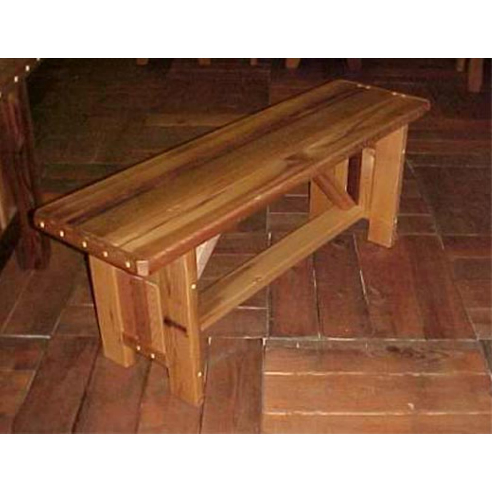 Cool Outdoor Wood Country Cabbage Hill Backless Bench Products Lamtechconsult Wood Chair Design Ideas Lamtechconsultcom