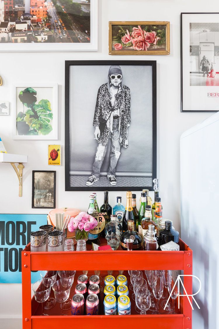 Decoration Pour Bar Maison Alyssarosenheck With Kendall Simmons Interiors For Mydomaine